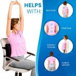 Soft Memory Foam Lumber Support Back Massager Pillow Back Mass-manhattan-wellness-group-010