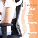 Soft Memory Foam Lumber Support Back Massager Pillow Back Mass-manhattan-wellness-group-01