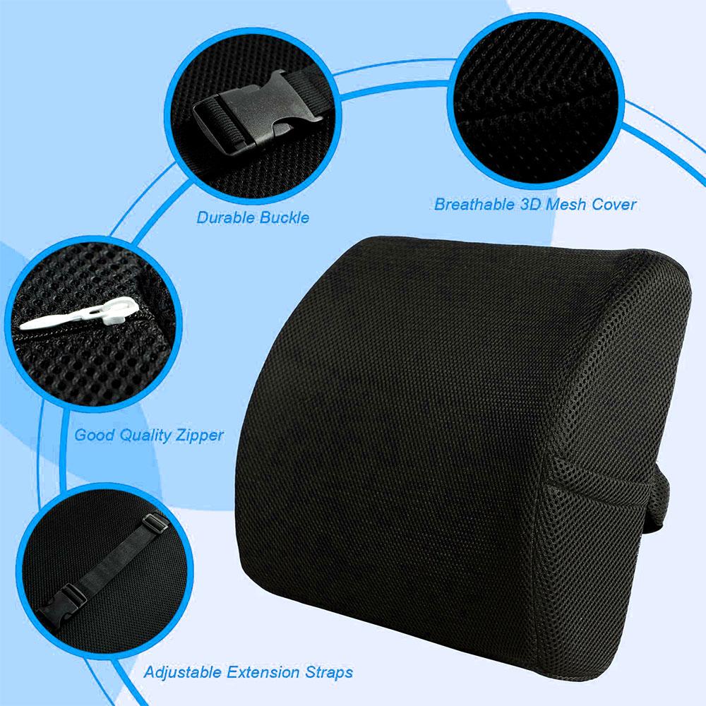 Soft Memory Foam Lumber Support Back Massager Pillow Back Mass-manhattan-wellness-group-06