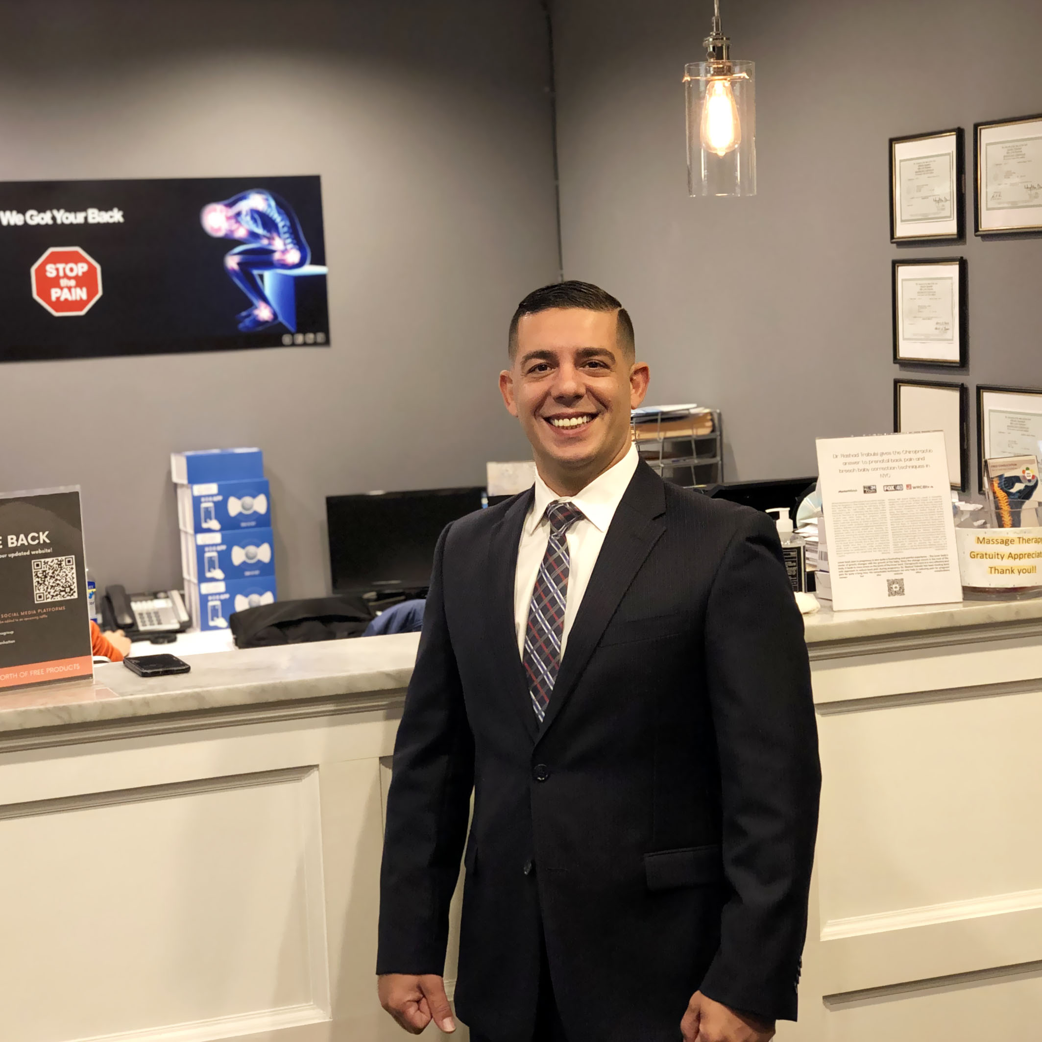 Chiropractic | Treatment, Examination & X-ray or MRI review by Dr. Rashad Trabulsi | Only for New patient