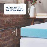 Memory Foam Mattress Topper queen king full size 3 inch 2 4-10