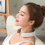 Neck Massager with Heat, Pain Relief, Cordless Intelligent Neck Massager, 6 Modes multi Levels Portable Deep Tissue Trigger Point Massager, Home, Outdoor, Office use,Rechargable-02