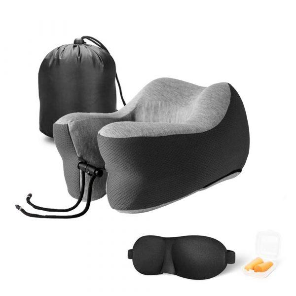 Travel Neck Sleep Pillow Memory Foam - 015