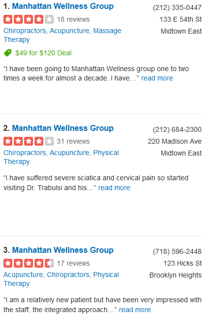 Manhattan Wellness Group – Pain Management & Wellness