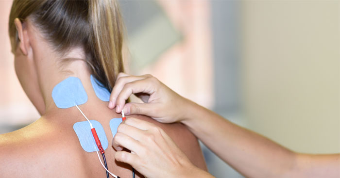 Electrical Muscle Stimulation Therapy at Manhattan Wellness Group